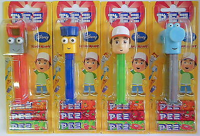 PEZ - HANDY MANNY 2011, set of 4 - Mint on Card !!!!!