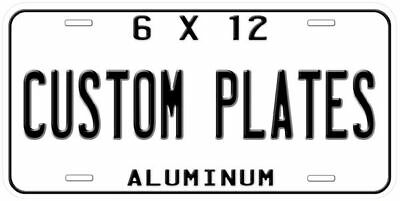 Custom Aluminum Novelty Car Auto Tag License Plate
