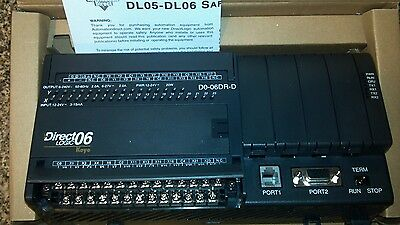 Automation Direct Koyo Direct Logic D0-06DR-D PLC , BEAND NEW, FACTORY SEALED