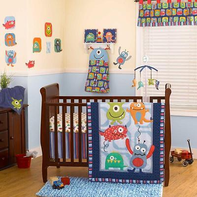 Monster Buds 5 Piece Baby Crib Bedding Set with Bumper by CoCo & Company