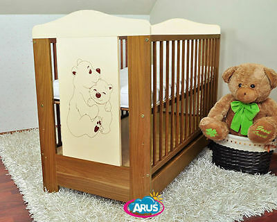 Cot for sale: Baby cot with drawer DUMBO 4 models + coconut foam mattress