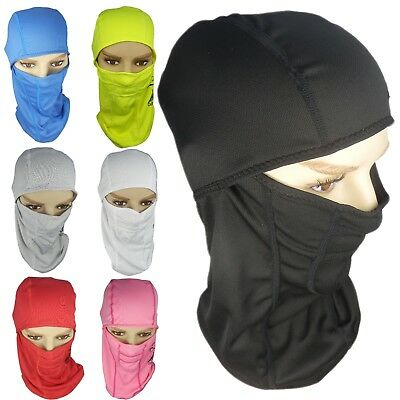 Winter Thermal Balaclava Hat One Hole Face Neck Cover Bike Motorcycle Ski  Hat 2d2fbb69d32a