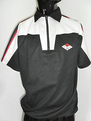 MAGLIA SHIRT CICLISMO CRANE  VINTAGE JERSEY ITALY BIKE CICLYNG TG S  A9