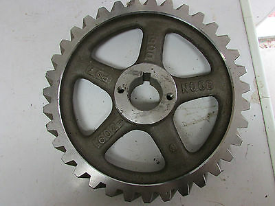 Helical Gear No. 68 P97 602-005 New. 13.5'' OD 2-1/8'' ID Shaft Hole 35 Teeth