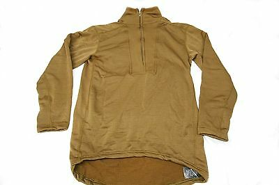 New SOF Special Forces PCU Level 2/ L2  Long Sleeve Grid Fleece Small Sekri