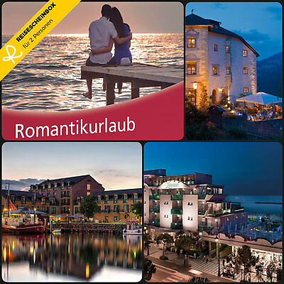 3 Day Romantic holiday for 2 in approx. 80 Hotels Short Travel Voucher WOW