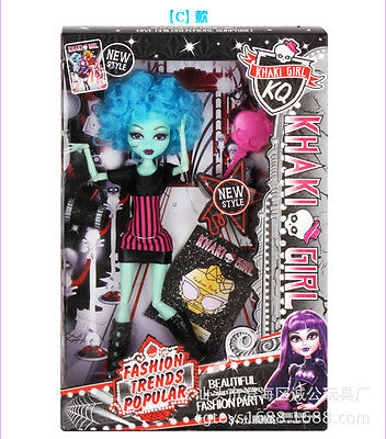 """Free Shipping NEW Monster High 14"""" WISHES Count Fabulous DOLL IN ORIGINAL BOX"""