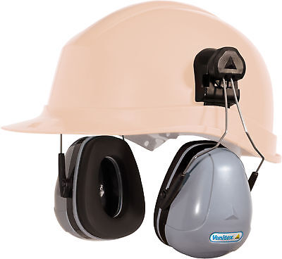 Delta Plus Magny-Helmet Ear Defenders - Clip onto Venitex Hard Hats SNR32db