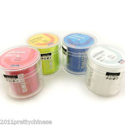 New Daiwa JUSTRON DPLS Nylon Superpower Fishing Line 500m Jigging Bottom Colors