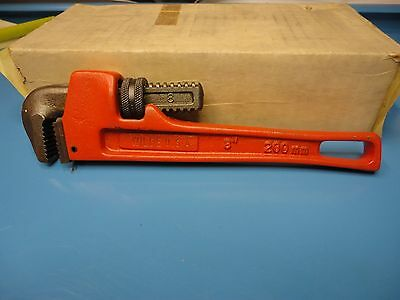 """Made In U.S.A., New, Wilde 8"""" Pipe Wrench, Perfect For Household Toolbox"""