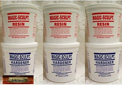 M02051x3 MOREZMORE 15 lb NATURAL Magic Sculpt Sculp Epoxy Clay Model Putty