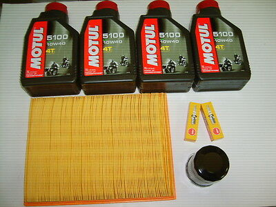 -Kit Tagliando Motul 5100 10W-40 Ducati Monster 620 Ie/Dark/M620S Anno 02-06