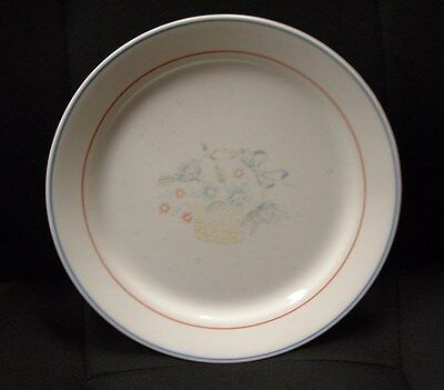 """Set of 3 Corelle COUNTRY CORNFLOWER Pattern 10-1/4"""" Dinner Plate Good Condition"""