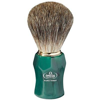 Pennello in puro tasso  Omega 6152 Shaving brush Bud gear