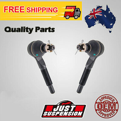 2 TIE ROD END SET For NISSAN PATROL Y61 GU 1997-2002