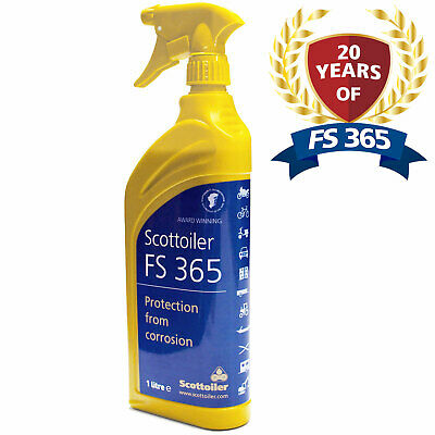Scottoiler FS365 Anti Corrosion Spray 1 Litre Motorcycle Protects Against Salt