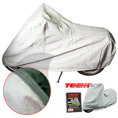 Tech 7 Deluxe Indoor Breathable Motorcycle Bike Dust Cover Medium New