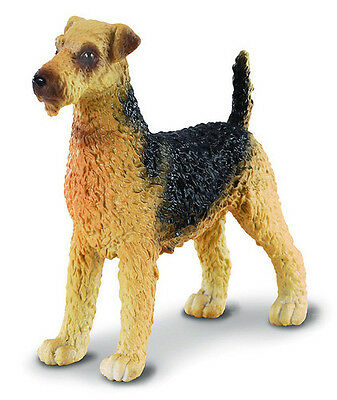 FREE SHIPPING | CollectA 88175 Airedale Terrier Replica Toy Dog - New in Package