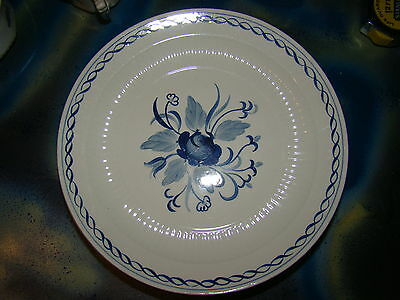 ADAMS BALTIC BLUE WHITE LOT OF 2 SALAD PLATES