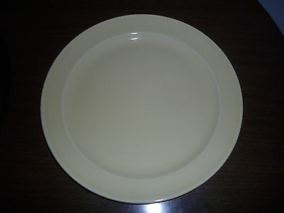 """EXCELLENT  T.S. & T. CO. LURAY PERSIAN CREAM 9 1/4"""" DINNER PLATE 1953"""