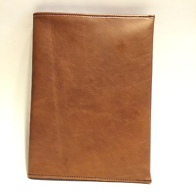 Mahogany Brown Leather Composition Notebook Cover