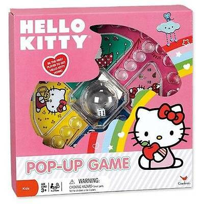 Pop Up Games : HELLO KITTY Trouble Game NEW Little Girl Pop Up Board Games