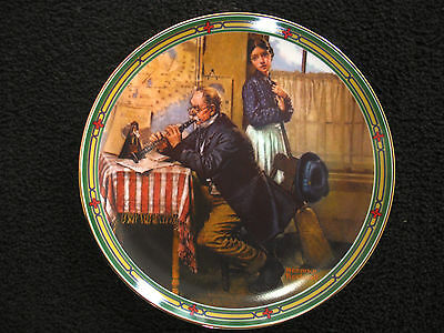 """""""The Musician's Magic""""- Norman Rockwell Collector Plate"""