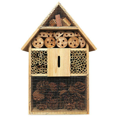 XXL Insects Hotel 48 Cm Insect House Home Nesting Hibernation Nest Box
