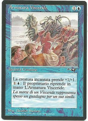 Armatura Visceride - Viscerid Armor carte Alleanze Magic card lot NM-EX
