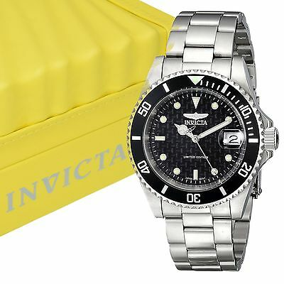 INVICTA Men's ILE8926OBA Pro Diver Grey Dial Automatic Stainless Steel Watch