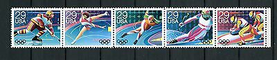 Timbre / Stamp / United States Of America / Jeux Olympique D' Alberville 1992