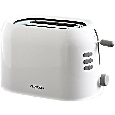 Kenwood TTP200 2 Slice Wide Slot Toaster with Peek & View Function in White