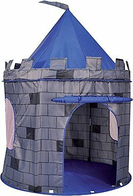 NEW Knights Castle Pop Up Kids Playhouse Tent - Blue