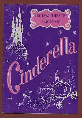 Paignton Theatre. 'Cinderella' Julie Howard. Bob Westcott. Anne Hunter 1977 h136