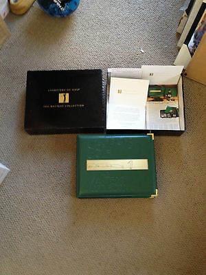 1993 Grand Slam Ventures Champions of Golf The Masters Collection GOLD FOIL Set