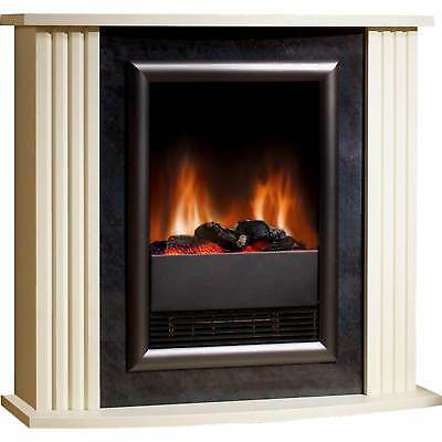 Dimplex MZT20 2000 Watts Mozart Suite Fire in Cream and Stone Effect New