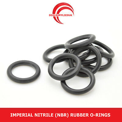 Imperial Nitrile Rubber O Rings 3.53mm Cross Section BS201-BS230 - UK SUPPLIER