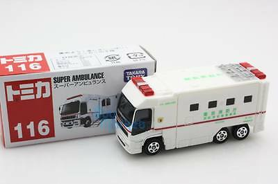 NEW Takara Tomica Tomy  #116 Super Ambulance Scale 1/63 Diecast Toy Car Japan