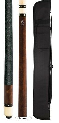 BRAND NEW MCDERMOTT LUCKY L9 Billiard Two Piece Pool Cue Stick + FREE SOFT CASE
