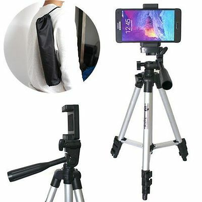 Universal Carry Aluminium Monopod Tripod Stand Mount Holder For All Mobile Phone