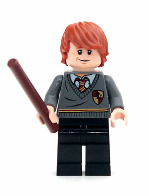 LEGO RON WEASLEY Minifigure from Harry Potter set 4738 (Hagrid's Hut)