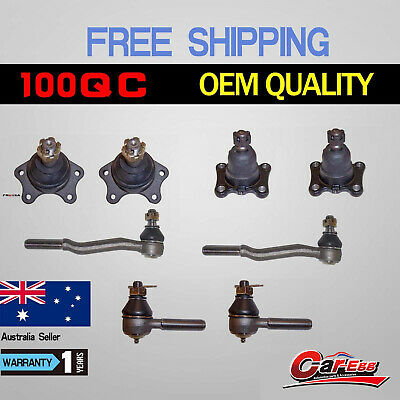 8 Ball Joints + Tie Rod Ends Toyota Hilux IFS 4WD Hilux RZN167 RZN169 1989-2005