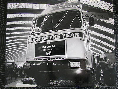 Photo MAN (  M.A.N. ) 19.321 1980 Truck of the Year 1980 (RAI Amsterdam)