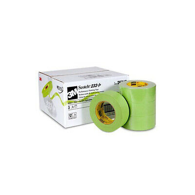 3M 26340 Scotch Masking Tape 233+ 48mm  Rolls One Case of 12 Rolls
