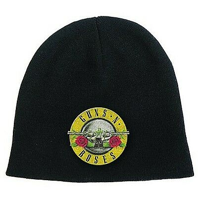 Guns N Roses (black) woven beanie hat - licensed product  (ro) REDUCED