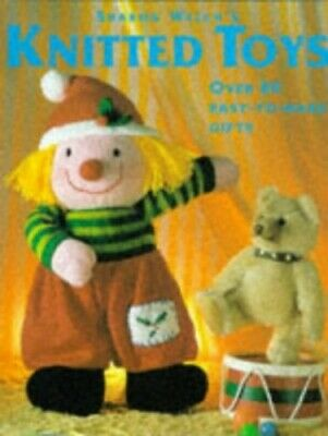 Knitted Toys by Welch, Sharon Hardback Book The Cheap Fast Free Post