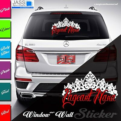Pageant Nana Stickers and Decals