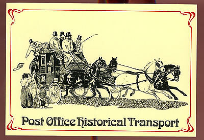 Royal Mail Postcard - London Stage Coach - Unused #C11150