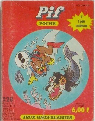 Pif Poche n°228 - 1984 - Jeux  - Gags - Blagues -