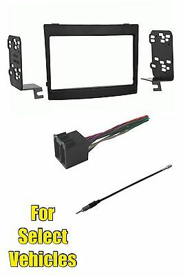 Car Radio Stereo Dash Kit Amp Harness for 2004-06 Ford Thunderbird Lincoln LS